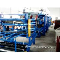 Buy cheap EPS/Rockwool Insulated Sandwich Panel Production Line from wholesalers