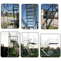 Buy cheap Durable high-tensile steel  Mobile Scaffolding / mason frame stair tower from wholesalers