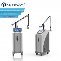 Buy cheap Ultra Pulse Co2 Fractional Laser Skin Tightening Machine 100um - 2000um Spot Size from wholesalers