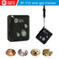 Buy cheap mini gsm gps tracker,portable personal gps tracker,gps tracking and sos communicator from wholesalers