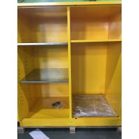 Buy cheap Flammable Goods Storage Cabinets With Earthing Socket For Combustible Liquid / Paint from wholesalers