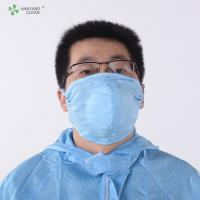 Buy cheap AntiStatic Washable Cleanroom 3D dust respirator printed facial Mask design and manufacturer of protective face from wholesalers