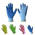 Gardening gloves ,latex foam coated gloves