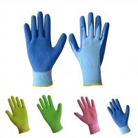 Quality Gardening gloves ,latex foam coated gloves for sale