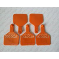 Buy cheap rfid uhf big size animal ear tag for cattle from wholesalers