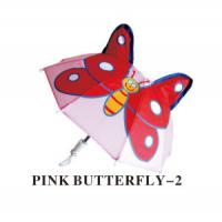 Buy cheap Straight Umbrella / 7 Mini-Safe Toy Straight Umbrella (pink buterfly) for Children from wholesalers