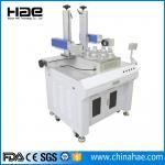 220V / 110v Fiber Laser Marking Machine , Small Portable Laser Etching Machine