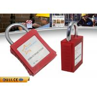 Buy cheap ZC-G101 ABS Xenoy Safety Lockout Padlocks 20 Mm Mini Steel Shackle from wholesalers