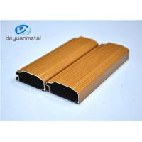 Buy cheap Wood Grain Aluminum Extrusion Profile For Decoration Alloy 6063-T5 / T6 from wholesalers