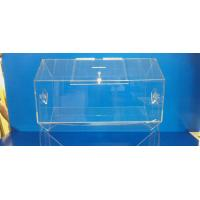 Buy cheap Rotating Acrylic Lottery Drum Lucite Game Display Box Eco-Friendly from wholesalers