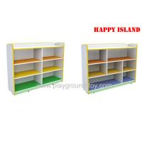 Buy cheap Kids School Furniture Melamine Board Storage Cabinet For Kindergarten Kids from wholesalers