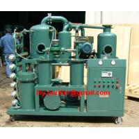 Buy cheap Double-stage vacuum Transformer oil filtration machine/ oil regeneration plant from wholesalers