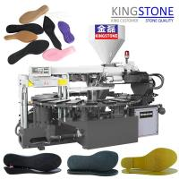 Buy cheap Kingstone Machinery Rotary Plastic Sole Injection Moulding Machine from wholesalers