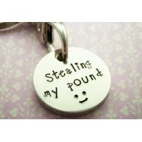Buy cheap Soft Enamel Metal Trolley Coin Keyring For Supermarket Shopping Cart from wholesalers