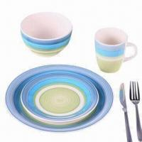 Buy cheap 16-pc Handpainted Dinner Set, OEM Orders are Welcome from wholesalers