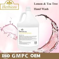 Buy cheap SPA Lemon And Tea Tree Hand Wash Skin Care Lotion 3.78L With Plastic Jar from wholesalers