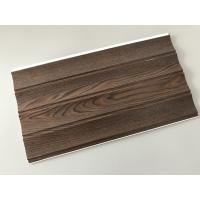 Buy cheap Wooden Groove Laminate Wall Panels , Commercial Washable Wall Panels from wholesalers