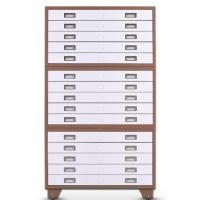 Buy cheap Customized steel office furniture A4 paper drawing cabinet map file cabinet from wholesalers