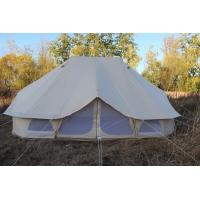 Buy cheap playdo Bell tent for camping outdoor 6m Outdoor Waterproof Canvas Bell Tent from wholesalers