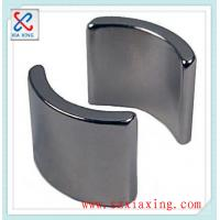Buy cheap permanent arc-segment neodymium ndfeb magnet for security systems from wholesalers