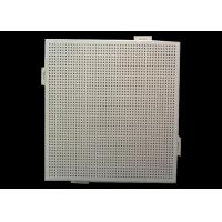 Buy cheap Office Ceiling Perforated Aluminum Sheet Round Holes With Pe Pvdf Coated from wholesalers