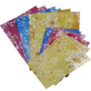 China Custom Printed  Aluminum Foil Plastic Packaging Sachet Bag with Zip-lock on sale