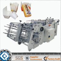 Buy cheap Corrugated Paper Carton Erecting Machine / Paper Bowl Making Machine product