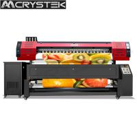 Buy cheap CrysTek CT-TX1802 digital dye sulimation printer with Epson dx7 printhead,  1440dpi from wholesalers