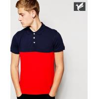 Buy cheap 100% cotton color combination polo shirt custom polo shirt  polo t shirts mens from wholesalers