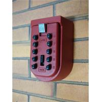Buy cheap Key Box Combination Lock / Wall Mounted Combination Lock Box Password from wholesalers