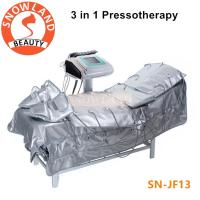 Buy cheap 3 in 1 far infrared+ems therapy +lymphatic drainage vacuum pressotherapy body slimming from wholesalers