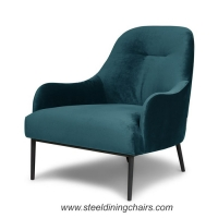 Buy cheap Study Studio Nordic 900mm 760mm Stainless Steel Leg Dining Chairs from wholesalers