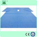 Buy cheap SMS Nonwoven Laparoscopy Pelviscopy Drape pack supplier in HeFei from wholesalers