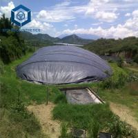 Buy cheap Black HDPE Geomembrane 1.5mm ASTM Standard for Biodigester Project from wholesalers