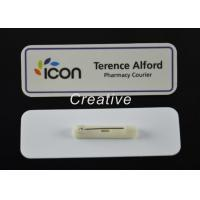 Buy cheap ABS 3D Epoxy Domed Coated Personalised Name Badges For Nurses / Kids from wholesalers
