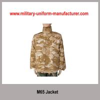 Buy cheap Army Desert Camouflage CVC Combat Jacket For Military training from wholesalers