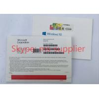 Buy cheap Genuine Windows Proffesional 32/64Bit, Windows 10 Proffesional USB&DVD OEM French Version from wholesalers