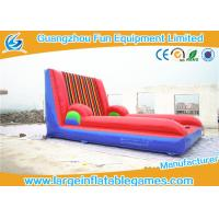 Buy cheap Custom Inflatable Sport Games , Inflatable Velcro Wall Slip N Slide 5*4M from wholesalers