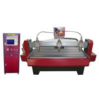 Buy cheap Large Torque Computer Controlled Wood Carving Machine 3 Axis CNC Wood Router from wholesalers