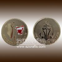 Buy cheap Custom Metal Souvenir Coins/ Cheap Challenge Coin/ Custom Military Coin from wholesalers