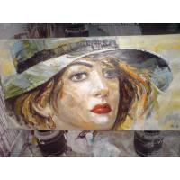 Buy cheap Original Handcrafted Portrait Oil Painting portrait on Canvas from wholesalers