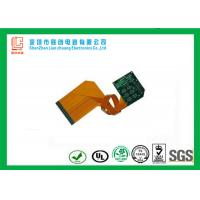 Buy cheap High performance double sided rigid flex circuit board Green soldermask legend silkscreen from wholesalers