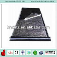 Buy cheap 3mm 4mm Reaction Cross Membrane Self Adhesive HDPE Waterproof Membrane from wholesalers