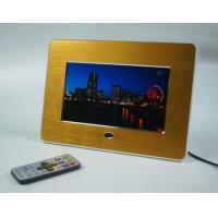 """Advertising 7"""" Metal Brushed POP LCD Display Screen With Video Loop Play"""