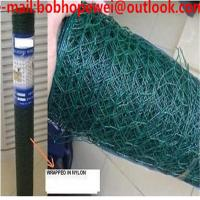 Buy cheap chicken wire manufactures/wire netting fence/poultry netting 50*50/hexagonal wire mesh chicken/chicken wire sizes from wholesalers