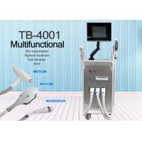 Buy cheap Stationary Style 3 In 1 Laser Tattoo / Hair Removal Machine 1064nm Wavelength from wholesalers