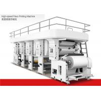 Buy cheap Water Based Ink High Speed Flexographic Printing Machine 1200mm Max Material Dia from wholesalers