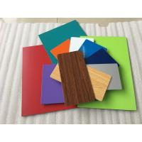 Buy cheap Various Colors Aluminum Composite Plate Waterproof With Nano PVDF Paint product