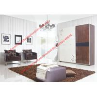 Buy cheap Apartment interior project Custom Furniture Modern Wooden Sliding door Wardrobe from wholesalers