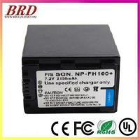 Buy cheap Rechargeable battery NP-FH100 For camera Sony SR7 SR12 SR220 from wholesalers